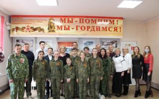 Встреча школьников с поисковиками из отряда «Татнефть - Поиск» из Республики Татарстан