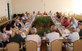 Августовская педагогическая конференция состоялась в Алушта